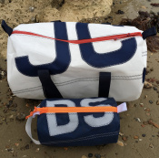 Personalised end sailcloth kitbags