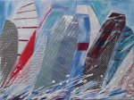 Sailcloth collages