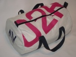 Large Sailcloth Kit Bag with Pink Numbers and Wash Bag