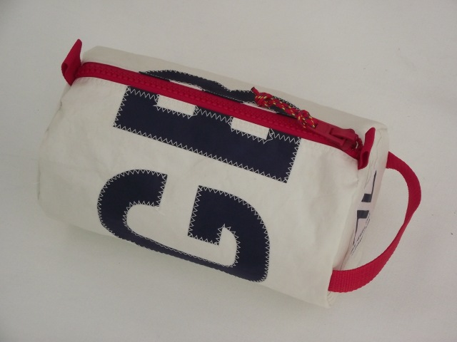 f)  GBR sailcloth wash bag