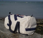 2 Personalised Natural Cotton Canvas Kit Bags