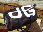 8 Personalised Classic Dark Tan Kit Bag