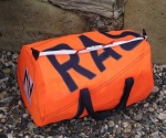Personalised Storm Orange 9oz Large Kit Bag
