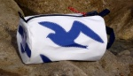 m)  Seagulls design sailcloth wash bags