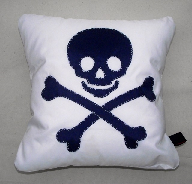 4a  Pirate Sailcloth Cushion