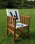 Personalised Tennis chairs