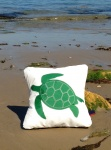 3c  Turtle Sailcloth Cushion