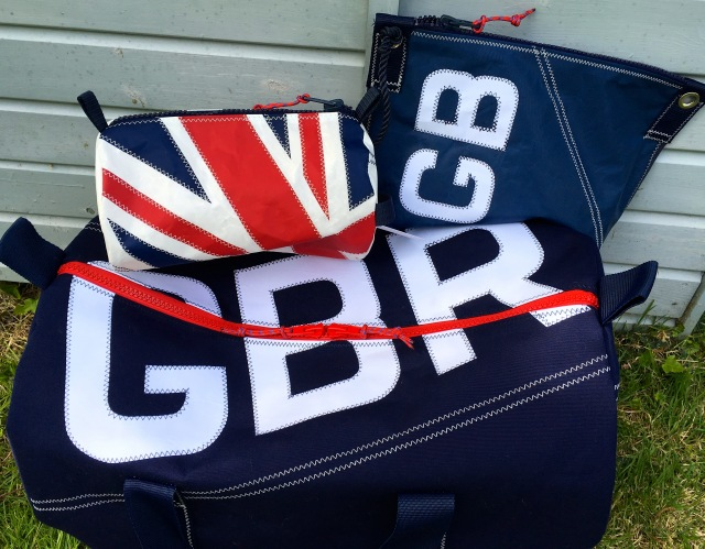 GBR Navy Blue Canvas kitbag range