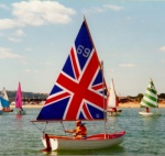 Union Jack Scow Sail